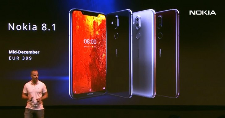 Nokia 8.1 launches today in Dubai