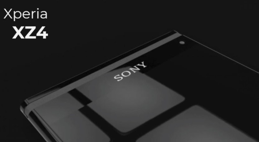 Xperia XZ4 The first version of Sony comes with a triple camera