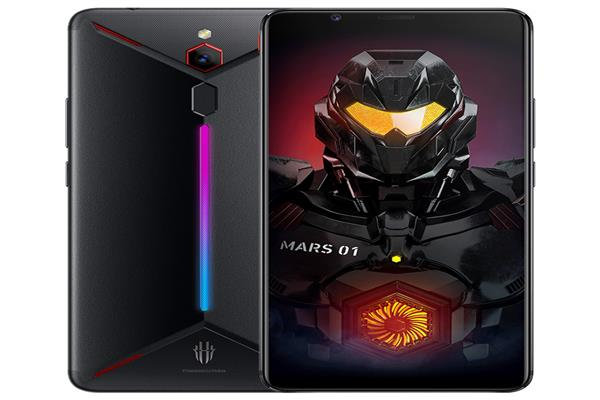 Launc of the Nubia Red Magic Mars gaming phone with 10 GB RAM