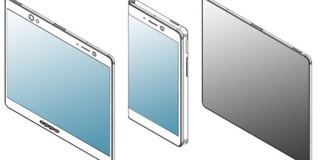 Oppo operates on a new folding phone