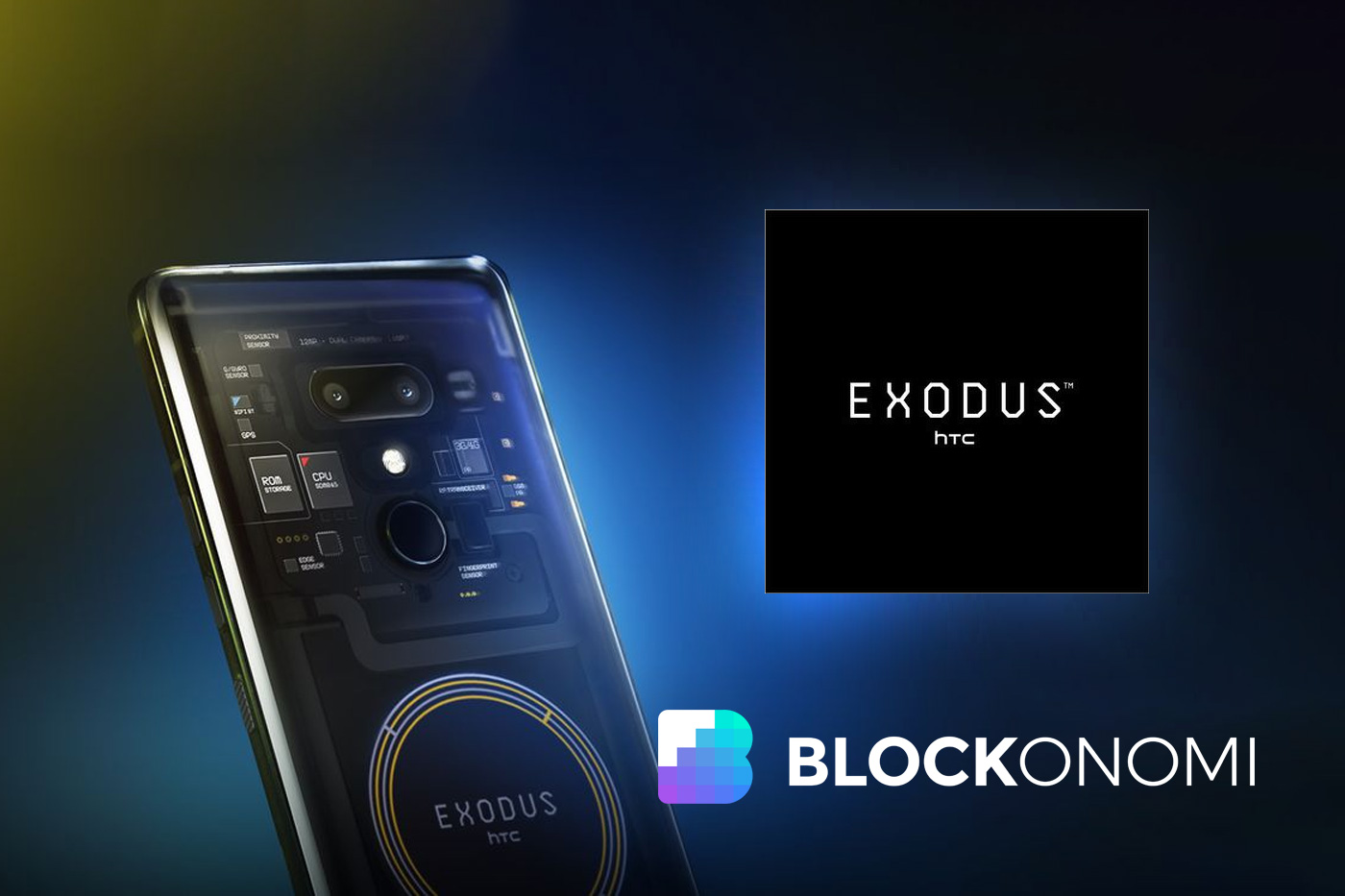 The announcement of the new digital currency phone HTC Exodus 1