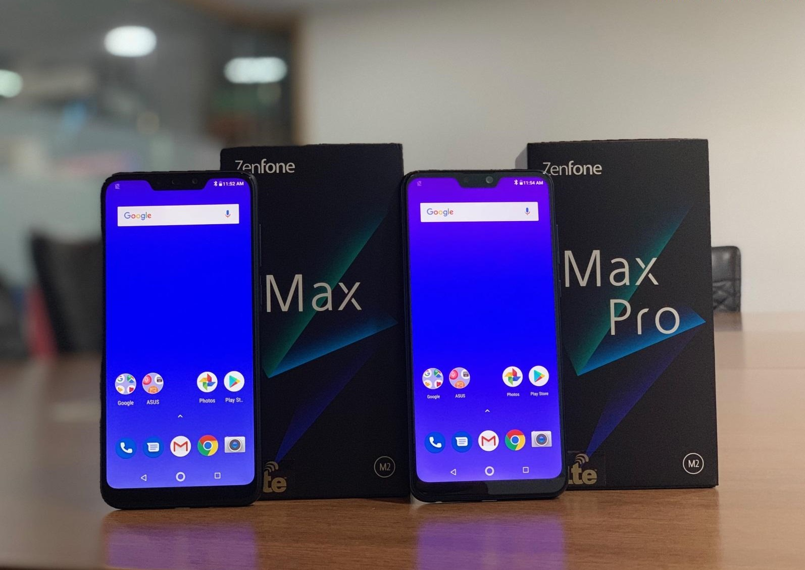 Learn about the newer Asus phones asus Zenfone Max M2 and Asus Zenfone Max Pro M2