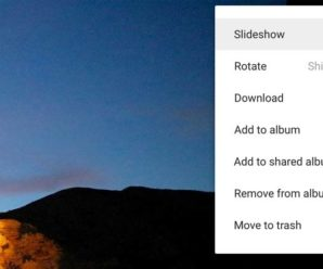 How to play slideshow videos on Google Photos?