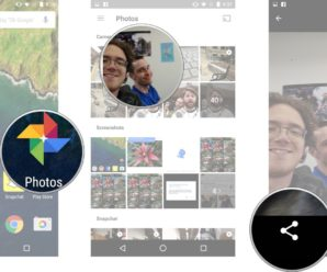 How to share Photos with your Friends