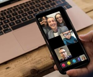 How to start a FaceTime conversation to several?