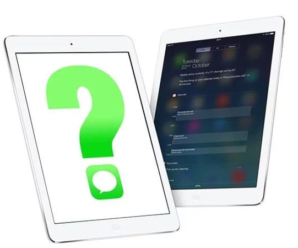 How to send sms from an iPad?