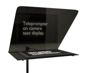 How to use an iPad as a prompter?