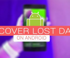 How to recover lost data on Android or iOS devices?