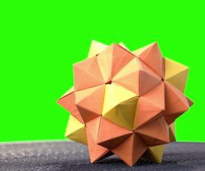 How to make modular origami?