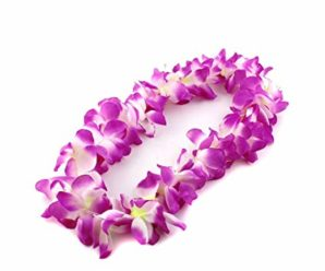 How to make a Hawaiian flower necklace?
