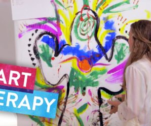 How to make art therapy?