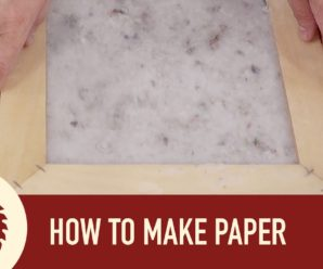 How to make a paper?