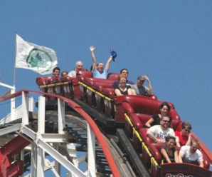 How to overcome the fear of scary rides?