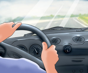 How to drive a car safely?