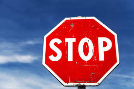 How to stop at a stop sign?