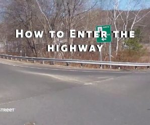 How to enter a highway without having an accident?