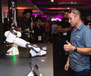 Opty, the fastest bartender robot in the South