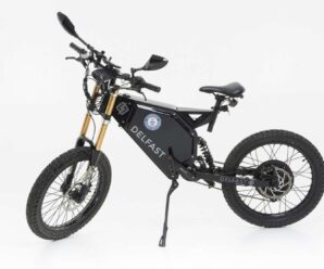 This electric bike offers more than 320 km of autonomy and spins at 80 km / h