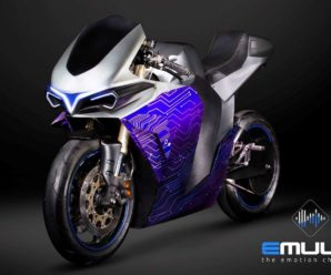This electric motorcycle can simulate the sound of any heat engine