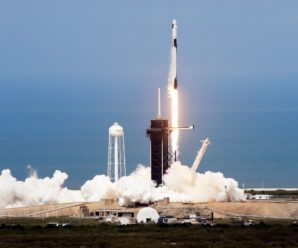 SpaceX launched two astronauts into space, a historic first
