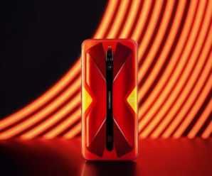 New: The Nubia RedMagic 5G is available in red until June