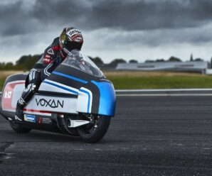 Voxan Wattman, the dry-ice electric motorcycle that wants to break the world speed record