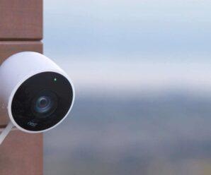 How do burglars use surveillance cameras?