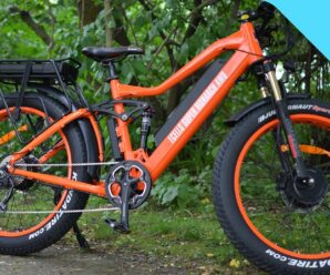 Two-wheel drive electric mountain bikes with amazing all-wheel drive